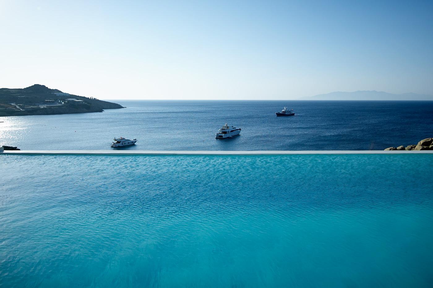 Mykonos breathtaking view